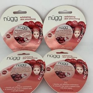 4 Pk Cranberry Seed Oil Nugg Exfoliating Face Mask